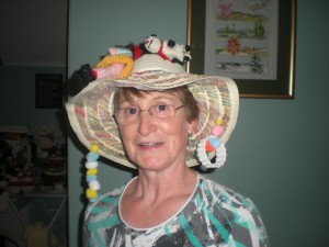 Marlet with her Mad Hatters Hat!!