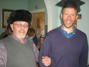 Dean Arfon and Canon Patrick