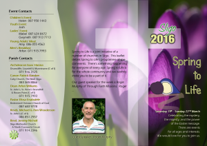 Spring to life 2016