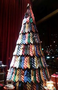 Christmas Tie Tree 2