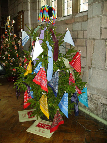 Christmas Tree In Church